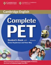 Complete PET Student's Book with Answers with CD-ROM