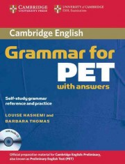 Cambridge Grammar for PET Book with Answers and Audio CD Self-Study Grammar Reference and Practice