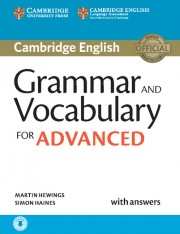 Grammar and Vocabulary for Advanced Book with Answers and Audio Self-Study Grammar Reference and Practice