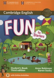 Fun for Starters Student's Book with Audio with Online Activities 3rd Edition