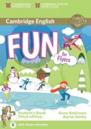 Fun for Flyers Student's Book with Audio with Online Activities 3rd Edition