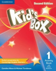 Kid's Box Level 1 Activity Book with Online Resources 2nd Edition