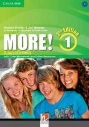 More! Level 1 Student's Book with Cyber Homework and Online Resources 2nd Edition