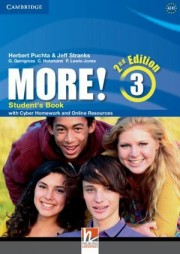 More! Level 3 Student's Book with Cyber Homework and Online Resources 2nd Edition