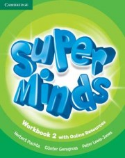 Super Minds Level 2 Workbook with Online Resources