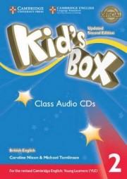 Kid's Box Level 2 Class Audio CDs (4) British English 2nd Edition