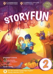 Storyfun for Starters Level 2 Student's Book with Online Activities and Home Fun Booklet 2 2nd Edition