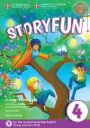 Storyfun for Movers Level 4 Student's Book with Online Activities and Home Fun Booklet 4 2nd Edition
