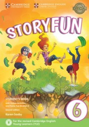 Storyfun 6 Student's Book with Online Activities and Home Fun Booklet 6 2nd Edition