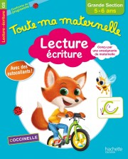 Lecture écriture, grande section