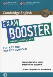 Cambridge English Exam Booster for Key and Key for Schools without Answer Key with Audio Comprehensive Exam Practice for Students