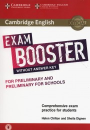 Cambridge English Exam Booster for Preliminary and Preliminary for Schools without Answer Key with Audio Comprehensive Exam Practice for Students