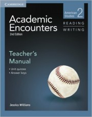 Poza: Academic Encounters Level 2 Teacher's Manual Reading and Writing American Studies 2nd Edition