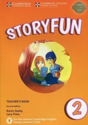 Storyfun for Starters Level 2 Teacher's Book 2nd Edition