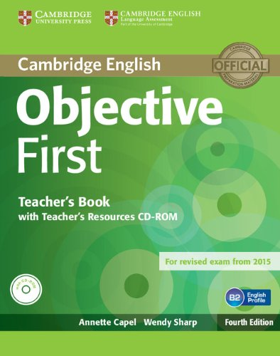 Objective First 4th Edition Teacher's Book with Teacher's Resources CD-ROM